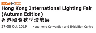 HONG KONG LIGHTING FAIR 27-30 OCT.